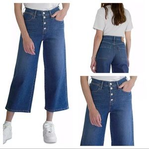 Levi's Mile High Wide-Leg Jeans Sz W 26 L 25
